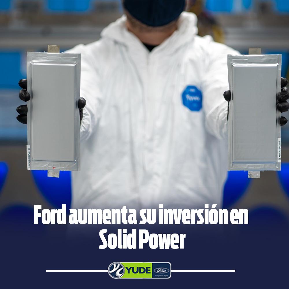 Ford aumenta su inversión Solid Power