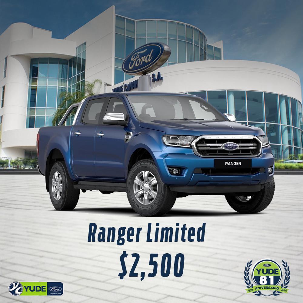 Ranger-limited-decuento-aniversario